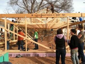 raising trusses